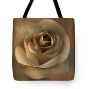 The Bronze Rose Flower Tote Bag by Jennie Marie Schell