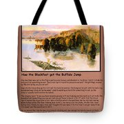 The Buffalo Heard  Tote Bag by Charles Russell
