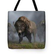 The Buffalo Vanguard Tote Bag by Daniel Eskridge