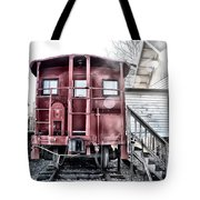 The Caboose Tote Bag by Bill Cannon