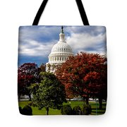 The Capitol Tote Bag by Greg Fortier