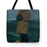 The Captain Tote Bag by Anthony Dunphy