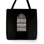 The Cathedral Sits Empty Tote Bag by Lisa Knechtel