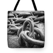 The Chain Tote Bag by Erik Brede