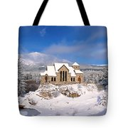 The Chapel On The Rock 3 Tote Bag by Eric Glaser