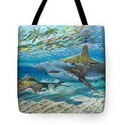 The Chase Tote Bag by Carey Chen