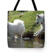 The Chase Tote Bag by Ramona Johnston