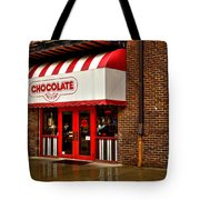 The Chocolate Factory Tote Bag by David Patterson