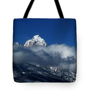 The Clearing Storm Tote Bag by Raymond Salani III