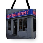 The Coffee Shop Tote Bag by Benjamin Yeager