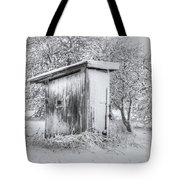 The Coldest Fifty Yard Dash Tote Bag by Benanne Stiens