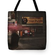 The Color Purple Tote Bag by Linda Unger