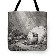 The Conversion Of St. Paul Tote Bag by Gustave Dore