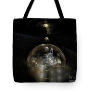 The Cosmic Builder Tote Bag by Peter R Nicholls