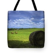 The Country House Hayfield Tote Bag by Reid Callaway