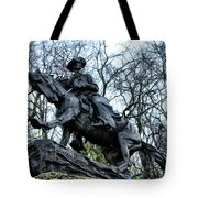 The Cowboy Tote Bag by Bill Cannon