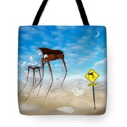 The Crossing 2 Tote Bag by Mike McGlothlen