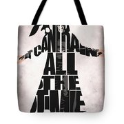 The Crow Tote Bag by Ayse Deniz