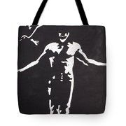 The Crow Tote Bag by Marisela Mungia