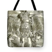 The Crucifixion Tote Bag by English School