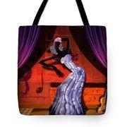 The Dancer V2 Tote Bag by Bedros Awak