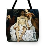 The dead Christ and angels Tote Bag by Edouard Manet