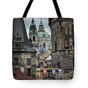 The Depths Of Prague Tote Bag by Joan Carroll