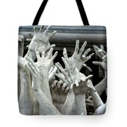The Descension Of The Consumer 2 Tote Bag by Nola Lee Kelsey