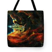 The Devil's Lair Tote Bag by Murphy Elliott