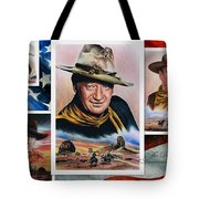 The Duke American Legend Tote Bag by Andrew Read