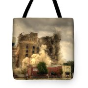 The End Of An Era Tote Bag by David Morefield
