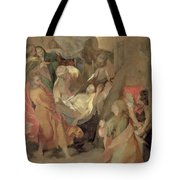 The Entombment of Christ Tote Bag by Barocci