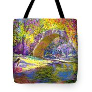 The Eternal Now Tote Bag by Jane Small