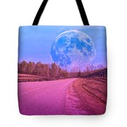The Evening Begins Tote Bag by Betsy C Knapp