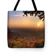 The Evening Star Tote Bag by Debra and Dave Vanderlaan