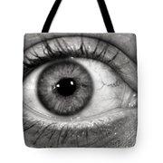The Eye Tote Bag by Luke Moore