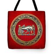 The Eye Of Horus Tote Bag by Serge Averbukh