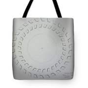 The Eye Of Pi Tote Bag by Jason Padgett