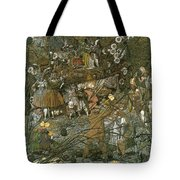 The Fairy Feller Master Stroke Tote Bag by Richard Dadd