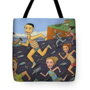 The Finish Line Tote Bag by James W Johnson
