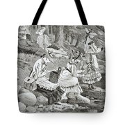 The Fishing Party Tote Bag by Winslow Homer