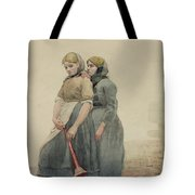 The Foghorn Tote Bag by Winslow Homer