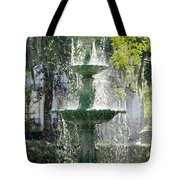 The Fountain Tote Bag by Mike McGlothlen