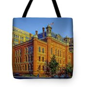 The Franklin School - Washington DC Tote Bag by Mountain Dreams