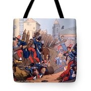The French Legion Storming A Carlist Tote Bag by English School