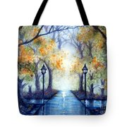 The Future Looks Bright Tote Bag by Janine Riley