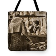 The General Store Tote Bag by Priscilla Burgers