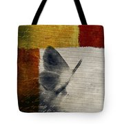 The Giant Butterfly And The Moon - S09-22cbrt Tote Bag by Variance Collections