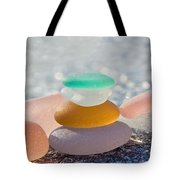 The Glass House Tote Bag by Barbara McMahon
