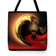 The Glory Of His Eminance Tote Bag by Claude McCoy